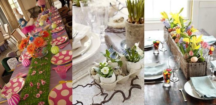 Idee tavola di pasqua 2015 decorazioni addobbi centrotavola - Decorazioni per la tavola ...