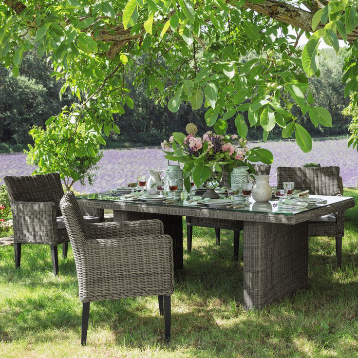 Maison du monde outdoor 2015 estate tavoli design mon amour - Maison du monde tavolo rotondo ...