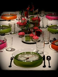 tavola capodanno 2016 moderna