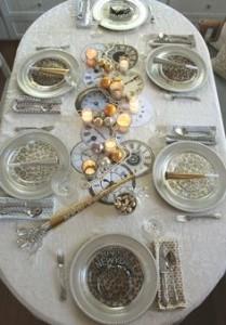tavola capodanno 2016 centrotavola