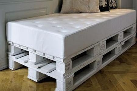 Idee creative con il pallet mobili bancali per tutti gli - Mobili con bancali in legno ...