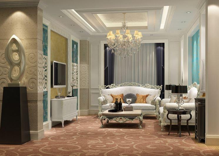 Arredamento in stile classico idee design e mobili classici for Arredamento stile classico moderno
