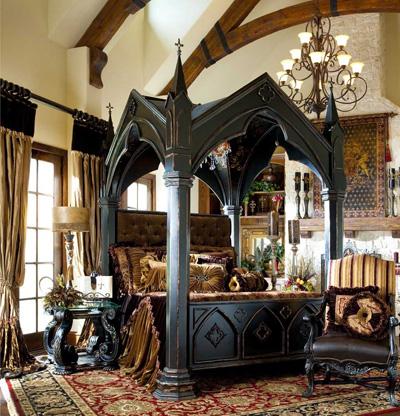 arredare in stile gotico consigli ed elementi design