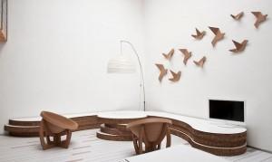 mobili cartone decorazioni