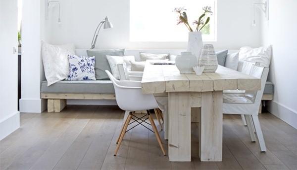 stile nordico stanza bianca